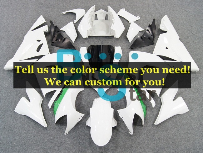 custom fairing kits fit for Kawasaki Ninja ZX-10R 2004 2005